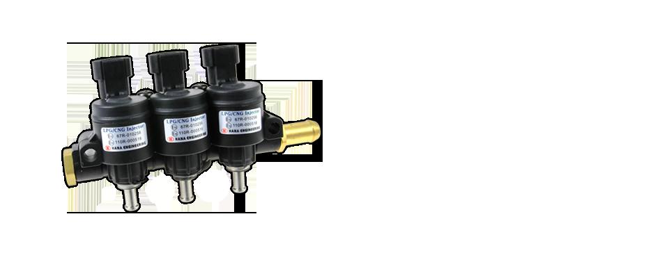 Hana Injectors - HANA - Injectors for LPG, CNG, LNG and Hydrogen