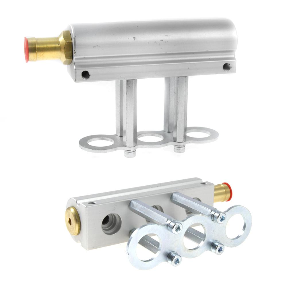 4 cylinder, aluminium, hana, housing, injectors, rail
