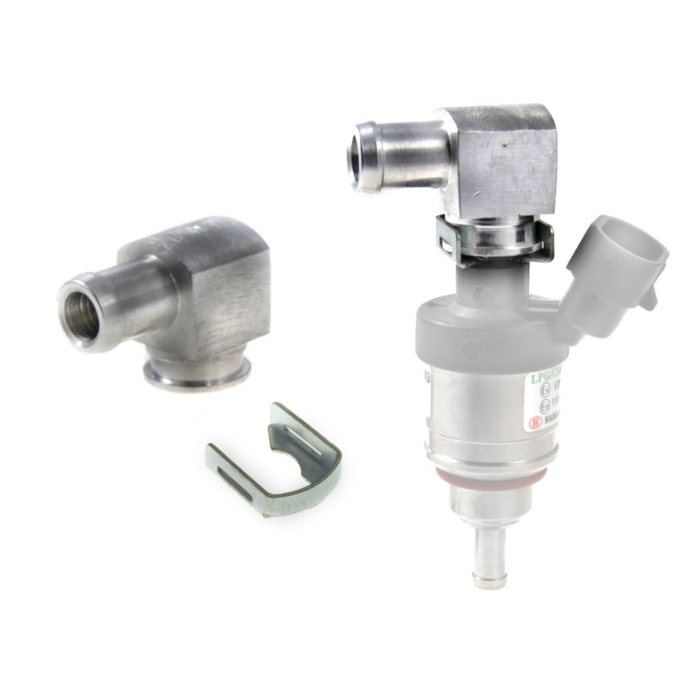 hana, 2002, injector, 12mm, inlet, adapter, rail, single, loop, hose